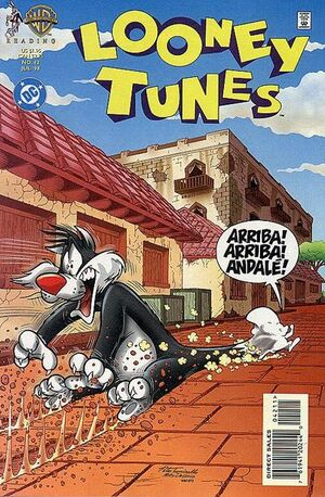 Cover for Looney Tunes #42