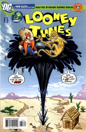 Cover for Looney Tunes #133
