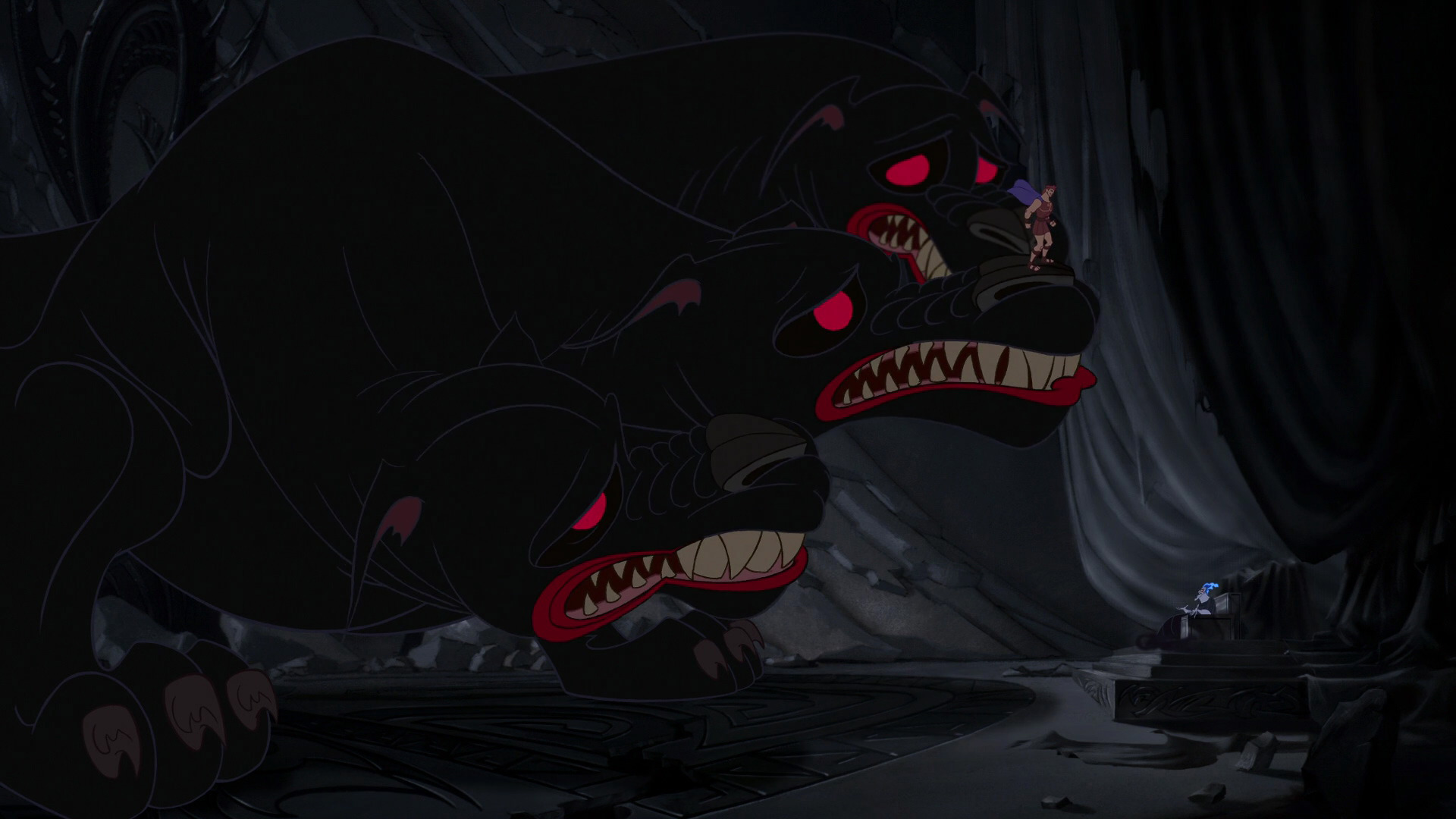 Hercules | Cerberus The Monster