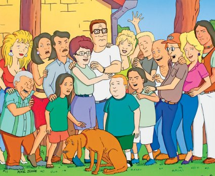 King of the hill characters-5146