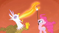 Gilda Pinkie Pie marshmallow roast S1E05
