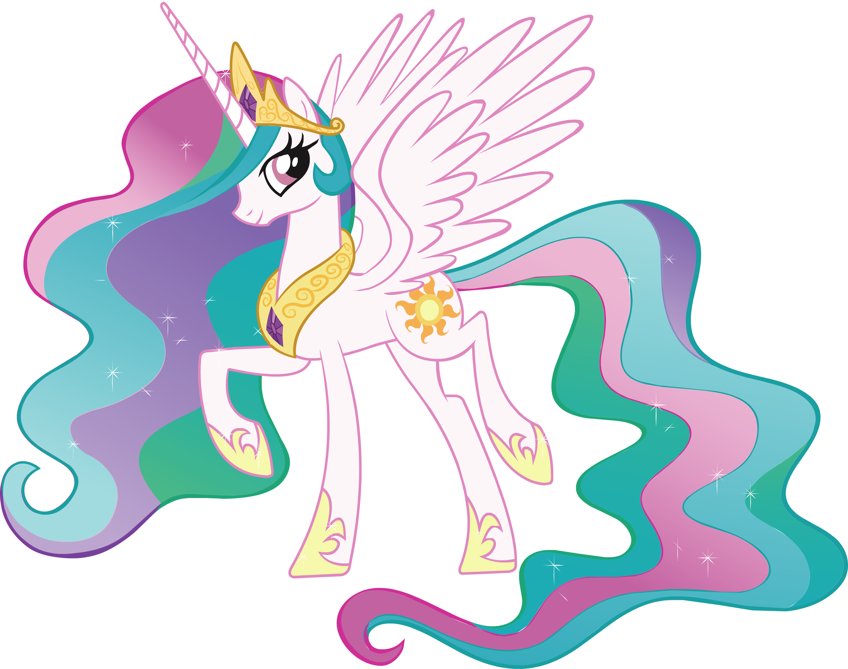 Princess celestia images my little pony friendship is - My little pony a colorier ...