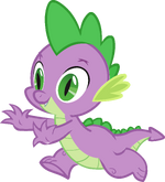 Canterlot Castle Spike 3