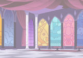 Canterlot Castle background 3