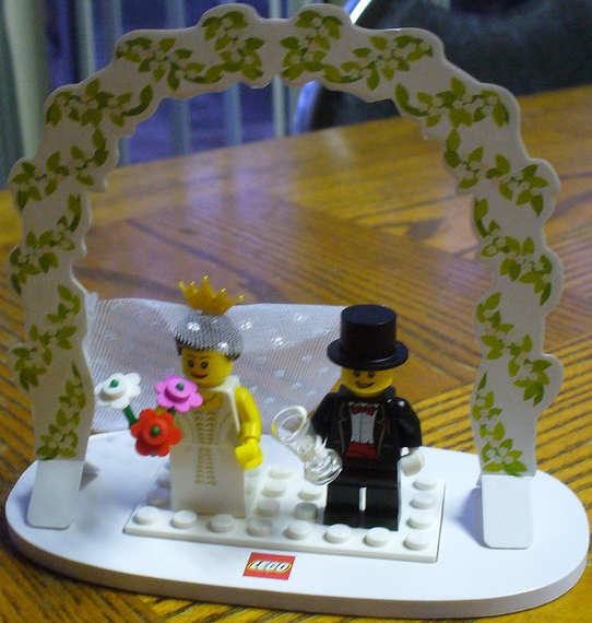 Featured on853340 Wedding Table Decoration Set lego wedding table decorate