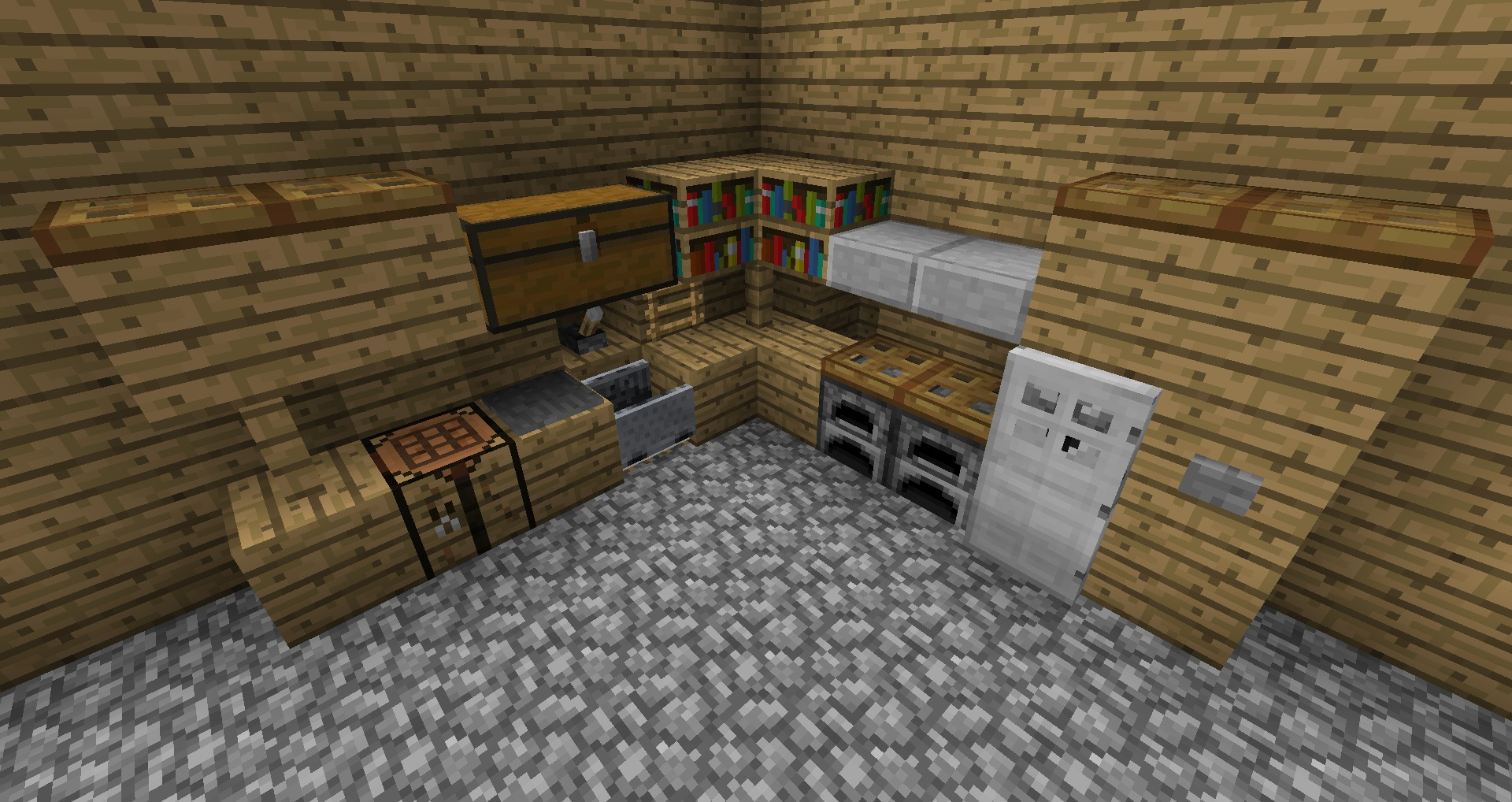 Minecraft Kitchen Ideas | Wood Project Ideas