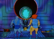 Book of omens explains to lion-o and panthro