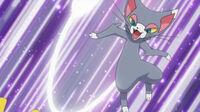 Pokemons contestes (o grande festival) 200px-EP624_Glameow_usando_cola_f%C3%A9rrea