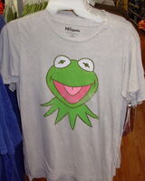 Disney 2011 kermit head shirt