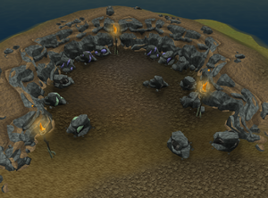 Lumbridge SW Rocks