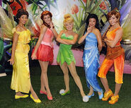 Disney Fairies at Walt Disney World