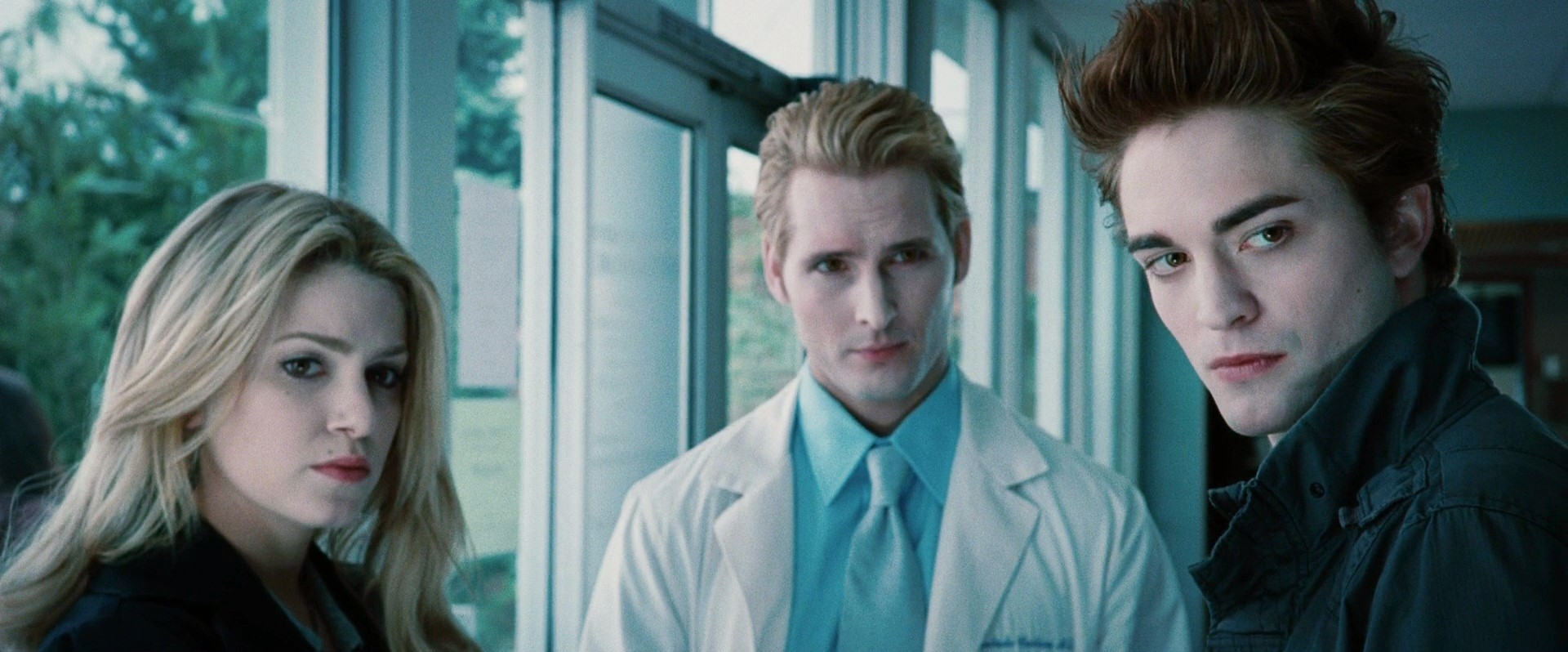 Rosalie and Dr.Cullen and Edward