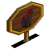 Black Cherry Horse Mastery Sign-icon