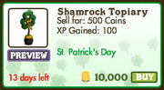 Shamrock Topiary Market-info