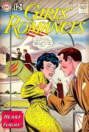 Cover for Girls' Romances #87