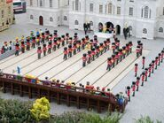 Lego Changing of the Guard