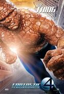 Fantastic 4 Thing poster