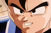 Vegeta scolding gohan