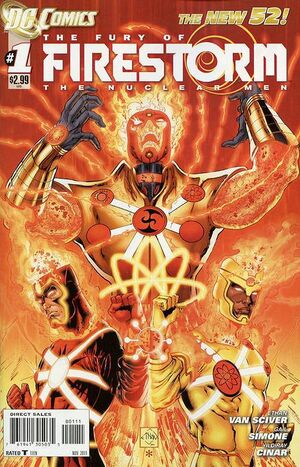 Cover for Fury of Firestorm #1