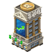Stock Market Building-icon