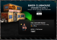 Biker Clunhouse Level 3