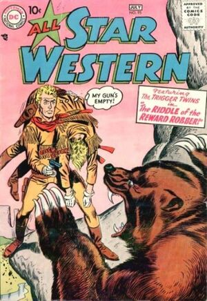Cover for All-Star Western #95