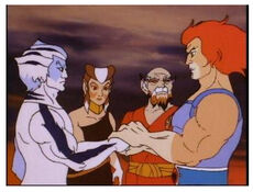 Liono greeting newthundercats