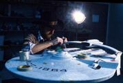 USS Reliant studio model worked upon by ILM&#39;s Steve Gawley