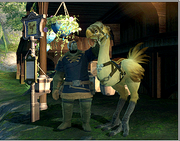 FFXIV Gridania Chocobo Stable