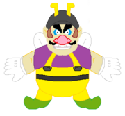 SM3DL2 Bee Wario Concept Art