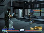 Tekken 4 Force Mode - Military Installation Combot