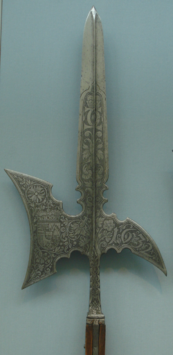 Halberd of Karl Eusebius