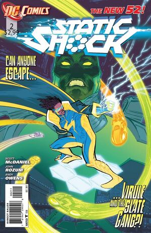 Cover for Static Shock #2