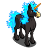 Blue Nightmare Unicorn-icon