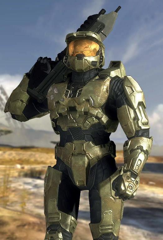 MICROSOFT Bungie Halo Master Chief spartano soldato Mini figura compatibile