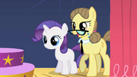 Filly Rarity with teacher S01E23