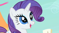 Rarity happy S01E26