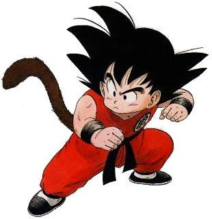 Serious Goku