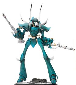 Eldar Titan model