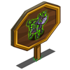 Skeleton Cow Mastery Sign-icon