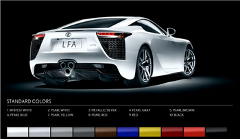 Lfa-colors standard