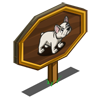 French Bulldog Mastery Sign-icon