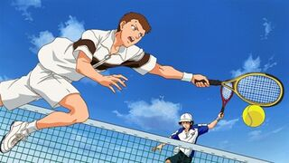 Ep. 34 Echizen against Fuji Yuuta