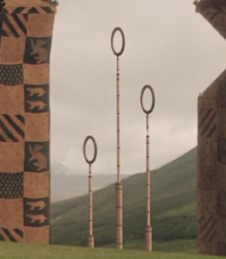 Quidditch goal post&#39;s