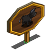 Welsh Black Cow Mastery Sign-icon