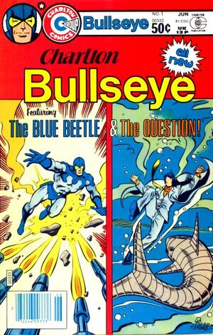 Cover for Charlton Bullseye #1