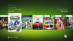 Sonic Generations xbox360 Marketplace1