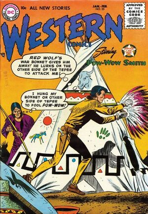 Cover for Western Comics #55