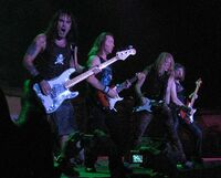 Iron Maiden - bass and guitars 30nov2006
