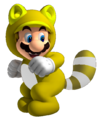 Invincibility Tanooki Mario
